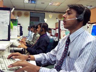 India call center