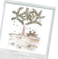 Tree of Life Rain Tee
