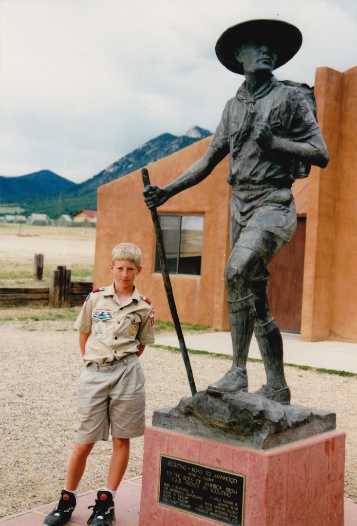 At Philmont Scout Ranch