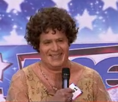 Lester Holt as Susan Boyle