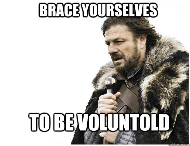 Voluntold